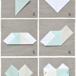 Diy Origami Heart Diy Origami Heart Escort Cards Diy Birthday Ideas Pinterest