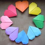 Diy Origami Heart Life At The Bay Diy Origami Heart Bookmark