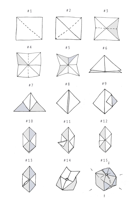 Diy Origami Step By Step Diy Origami Light Garland Boat People Vintage Diy Style Art De
