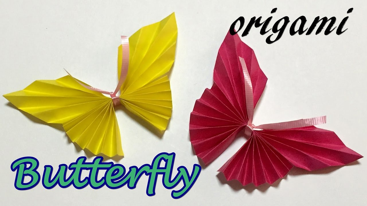 Diy Origami Step By Step Easy Origami Butterfly Instructions Step Step How To Make A