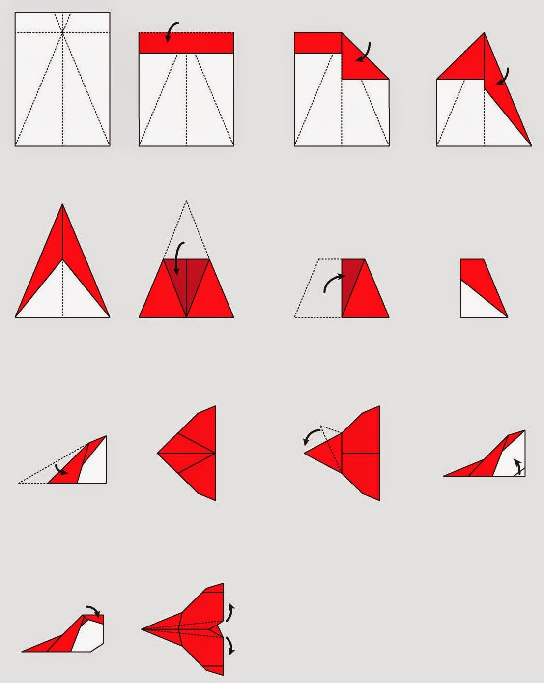 Diy Origami Step By Step How To Make Origami Planes Step Step Origami Instructions Art