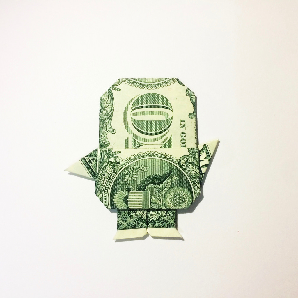 Dollar Bill Origami Dollar Bill Origami Minion Dollar Bill Origami Minion Desi Flickr