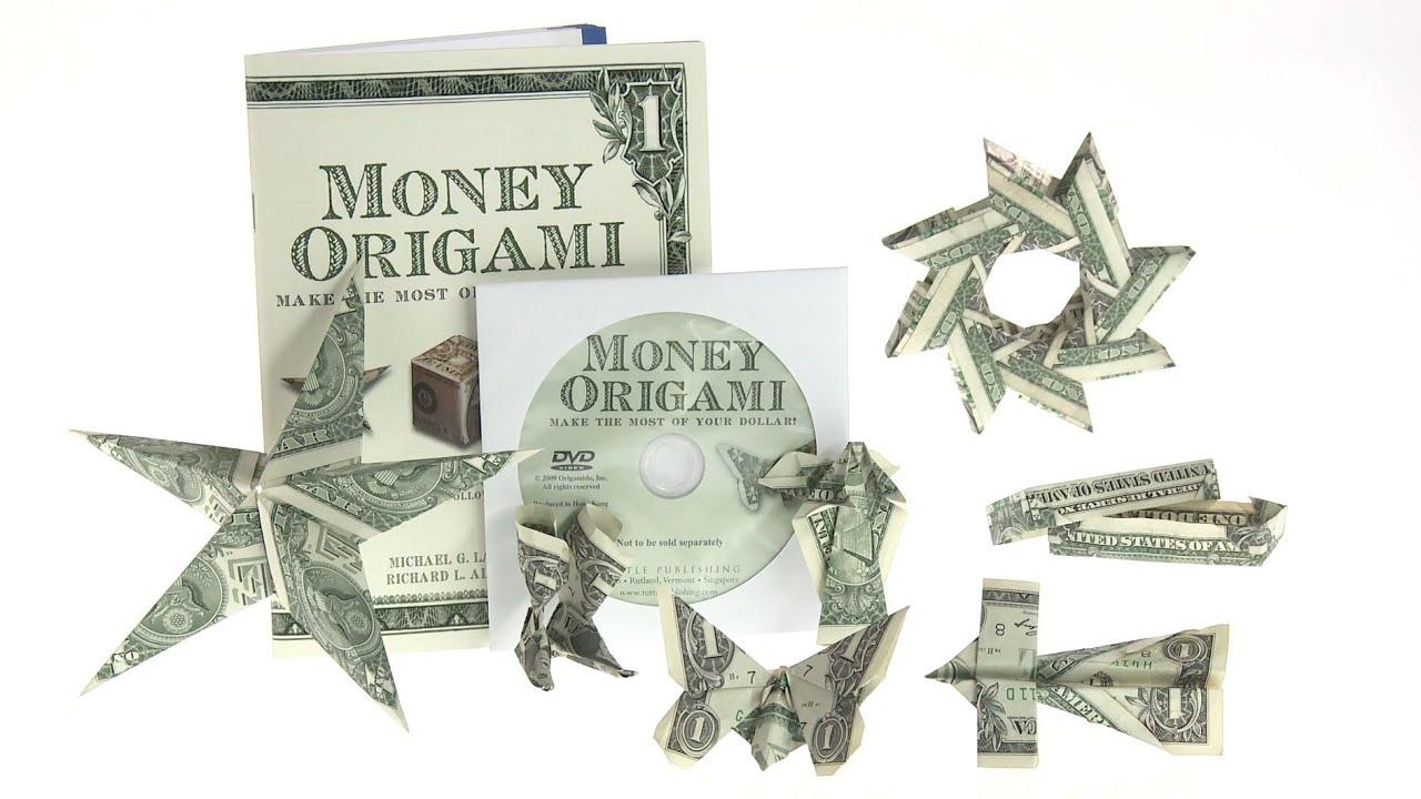 Dollar Bill Origami Money Origami 21 Designs Using Just Dollar Bills Youtube