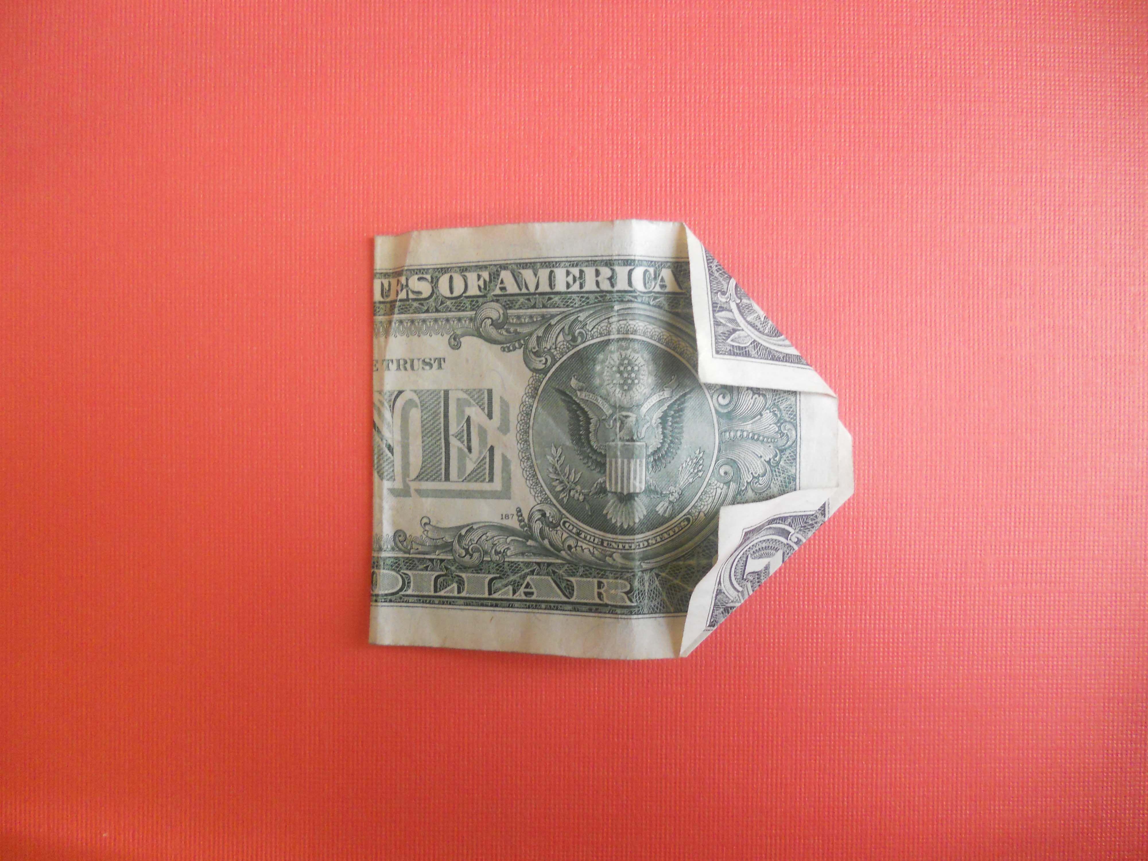 Dollar Bill Origami Money Origami Heart Instructions