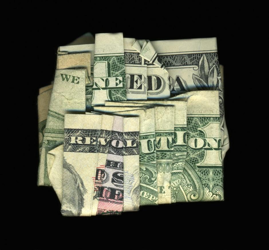 Dollar Bill Origami We Need A Revolution Dollar Bill Origami Page 1