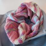 Double Knitting Tutorial Scarfs Apple Blossom Dreams Chevron Infinity Scarf In Hdc Pattern And
