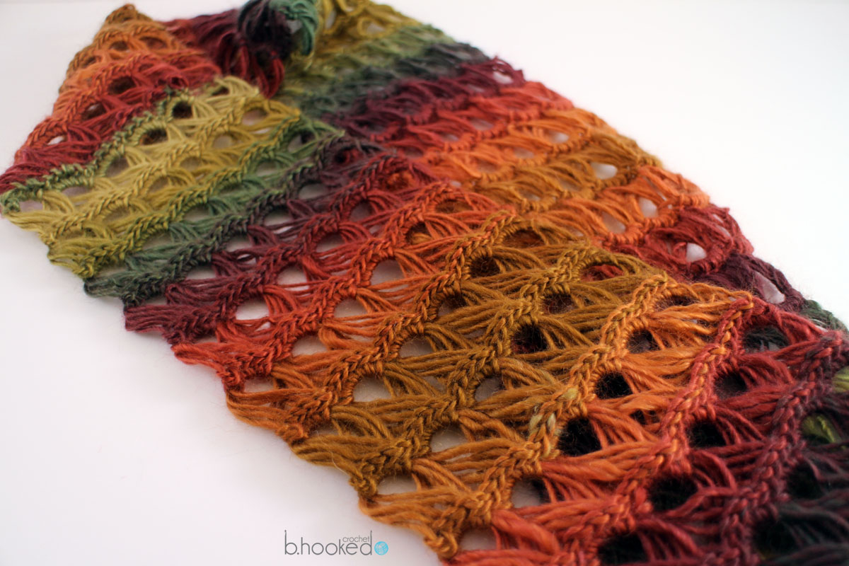 Double Knitting Tutorial Scarfs Broomstick Lace Infinity Scarf Bhooked Crochet Knitting