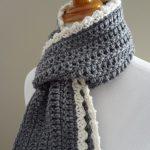 Double Knitting Tutorial Scarfs Fiber Flux Free Crochet Patterningrid Scarf