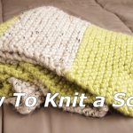 Double Knitting Tutorial Scarfs How To Knit A Multi Colors Scarf 12 Step To Easy Knitting Youtube