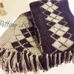 Double Knitting Tutorial Scarfs Petting Life Double Sided Two Tone Scarf Knitting Tutorial