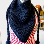 Double Knitting Tutorial Scarfs Triangular Scarf The Knit Cafe