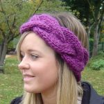 Earwarmer Knitting Patterns Free Easy Knit Headband Ear Warmer Pattern Crochet And Knit