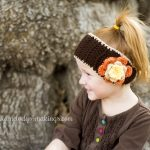Earwarmer Knitting Patterns Free Falling Flowers Ear Warmer Free Pattern Melodys Makings