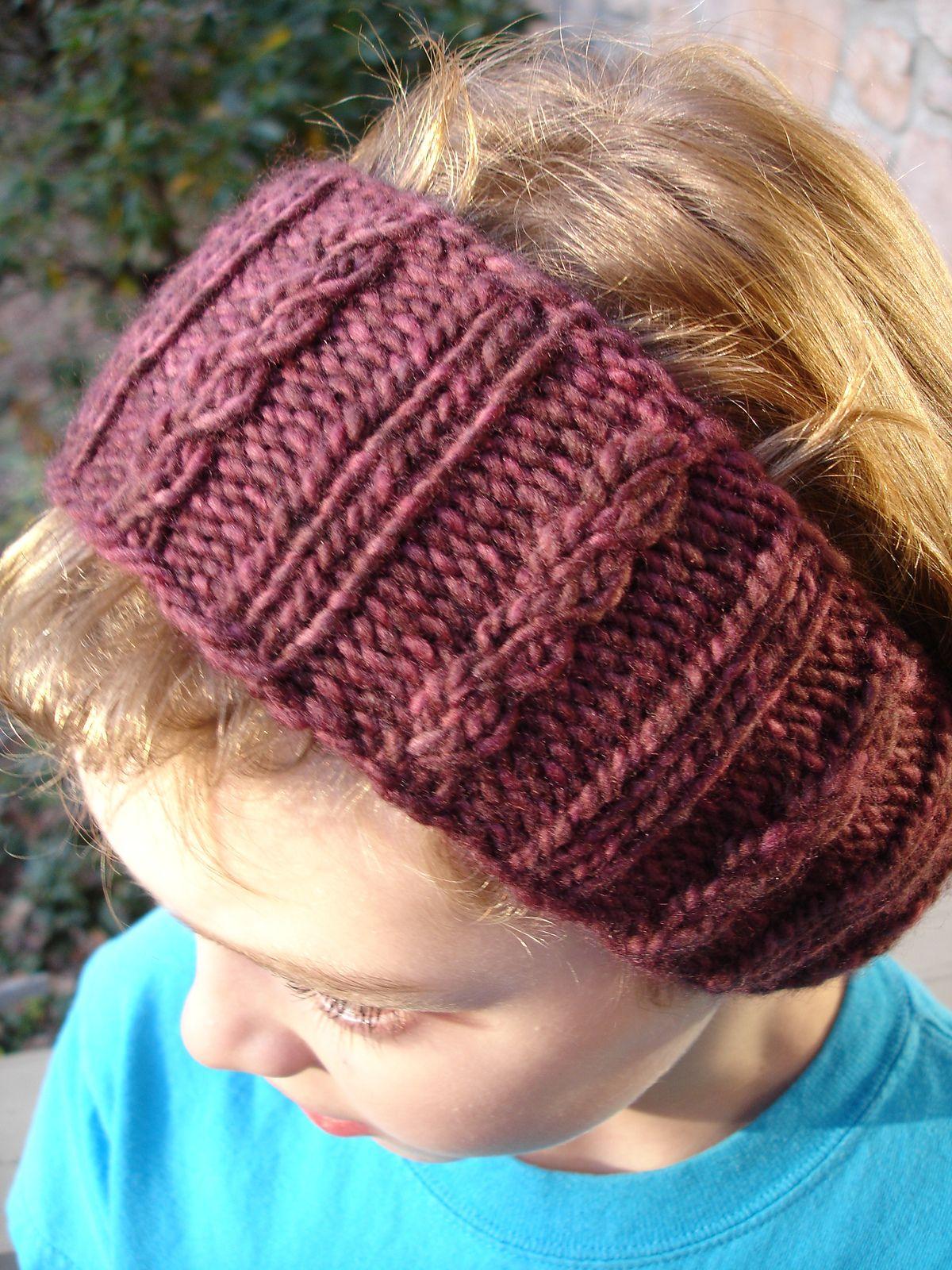 Earwarmer Knitting Patterns Free One Skein Knitting Patterns Knitting Pinterest Knitting