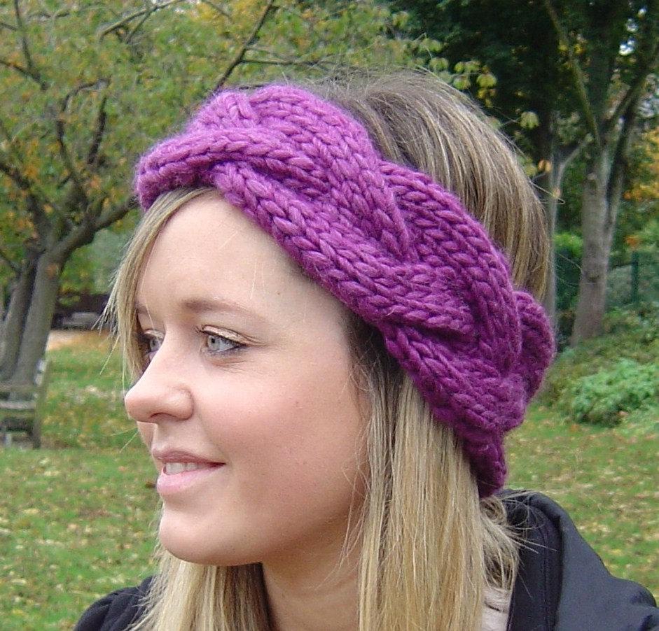 Earwarmer Knitting Patterns Head Bands 12 Loom Knit Headband Patterns The Funky Stitch
