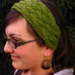 Earwarmer Knitting Patterns Head Bands Earwarmer Headband Knitting Patterns In The Loop Knitting