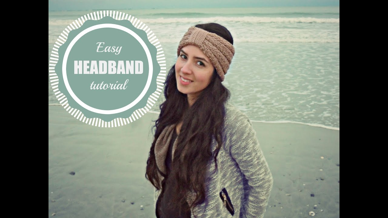 Earwarmer Knitting Patterns Head Bands How To Make A Headband In Cartridge Stitch Tutorial Step Step