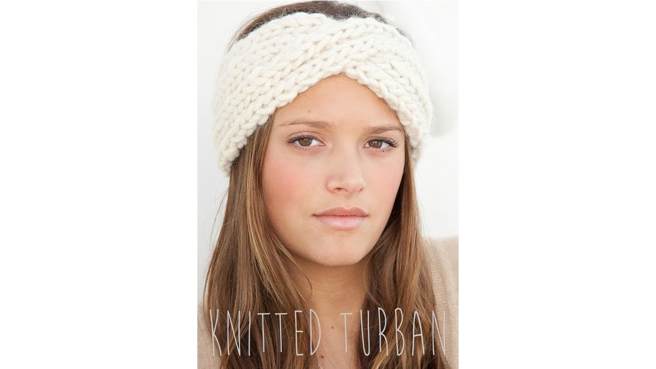 Earwarmer Knitting Patterns Head Bands Knit Turban Headband Pattern Crochet And Knit