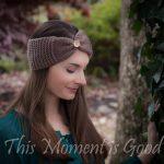 Earwarmer Knitting Patterns Head Bands Loom Knit Headband Earwarmer Pattern Free This Moment Is Good
