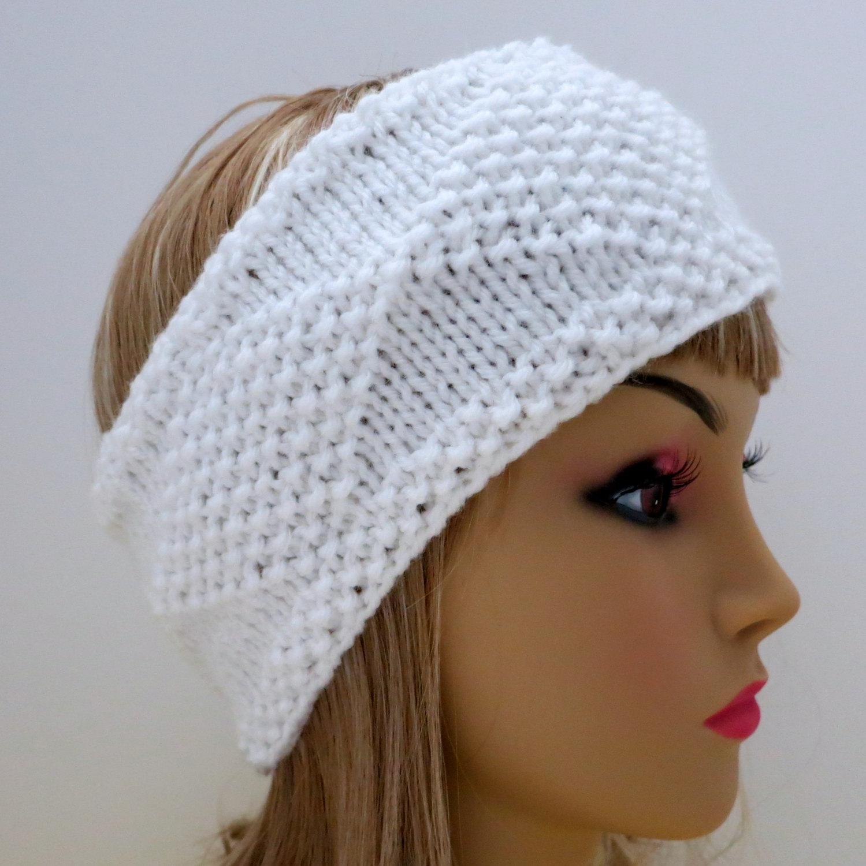 Earwarmer Knitting Patterns Head Bands New Easy Knit Headband Ear Warmer Pattern Knitting Pattern Pdf