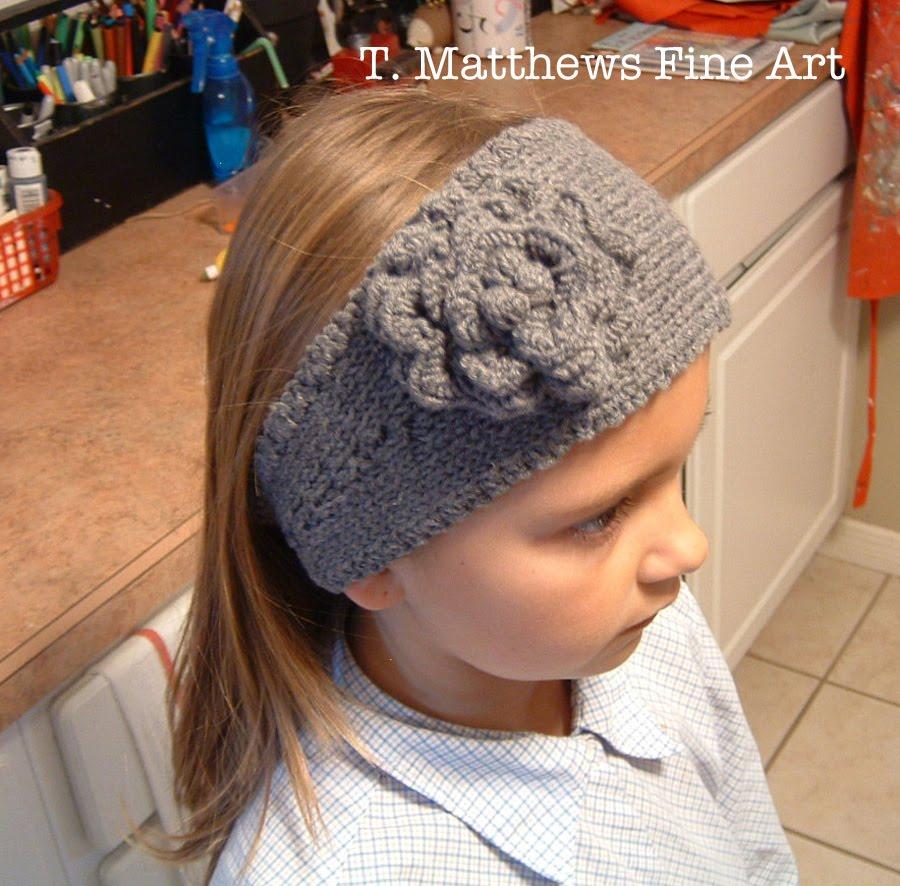 Earwarmer Knitting Patterns Head Bands T Matthews Fine Art Free Knitting Pattern Headband Ear Warmer