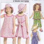 Easy Sewing Patterns Butterick Fast Easy Sewing Pattern Children S Girl S Top Dress