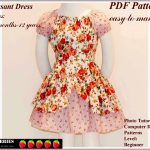 Easy Sewing Patterns Free Printable Sewing Patterns Alexandra Girls Dress Sewing