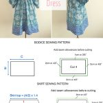 Easy Sewing Patterns Free Sewing Pattern Tutorial Free People Inspired Summer Dress