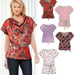 Easy Sewing Patterns Sewing Pattern Tops Summer Blouses Women Girls New Look Simplicity
