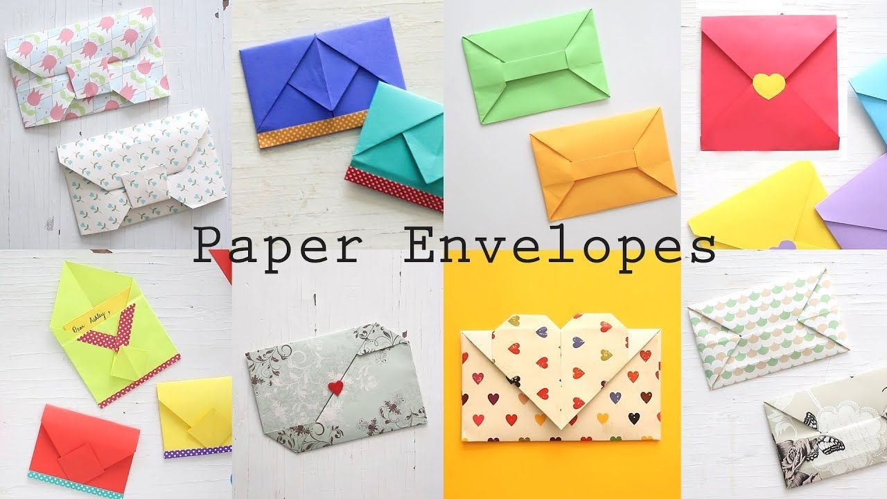 Envelope Origami Easy 8 Easy Paper Envelopes Diy Origami Tutorial Ventuno Art Create