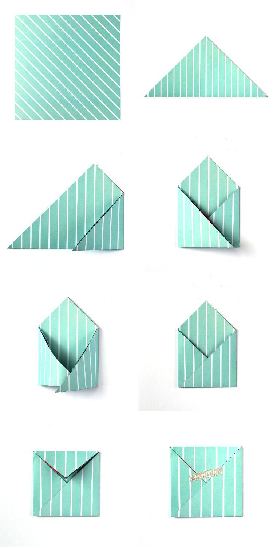 Envelope Origami Easy Briefumschlag Falten In 20 Sekunden 3 Kreative Diy Anleitungen