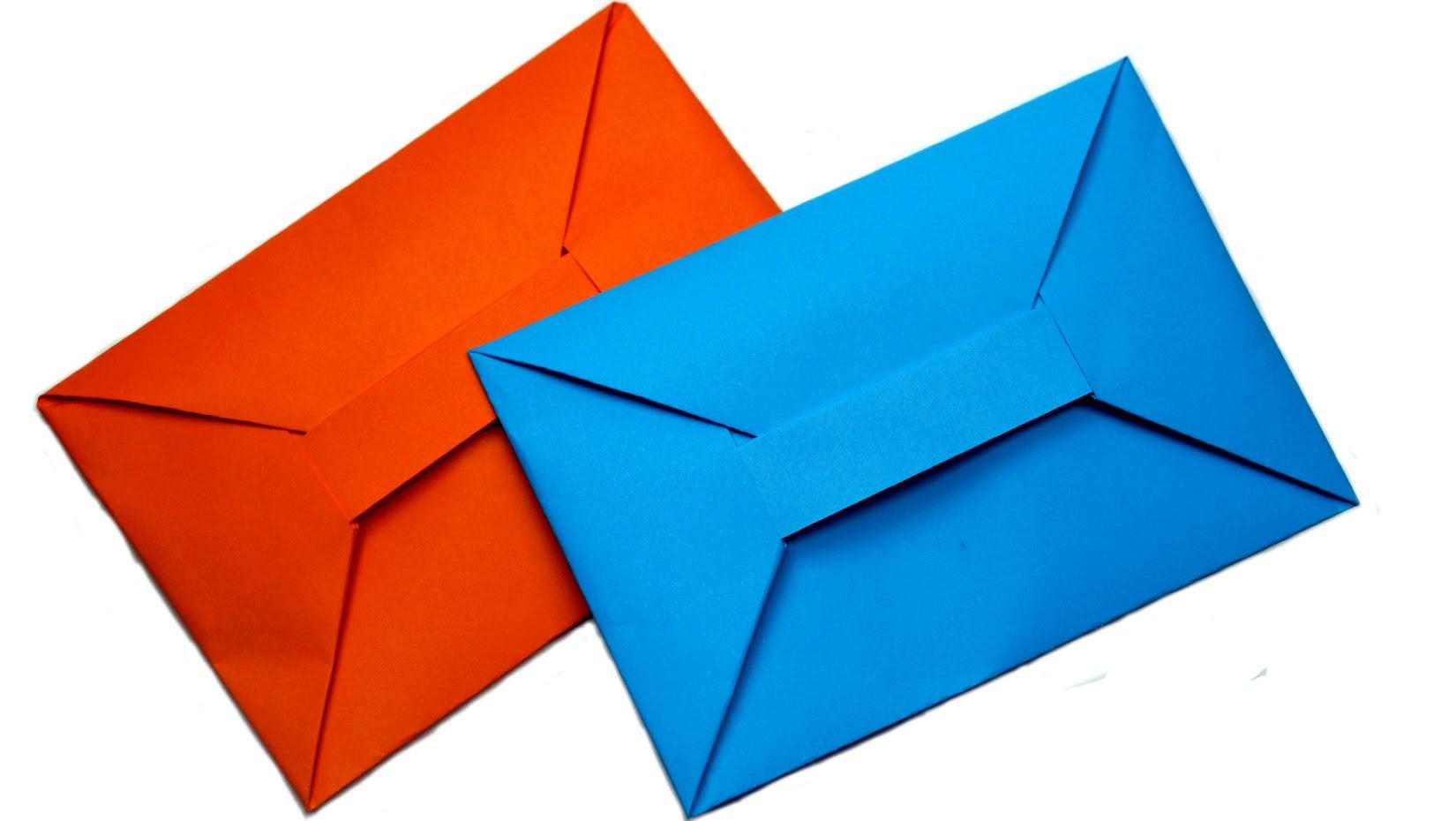 Envelope Origami Easy Diy Easy Origami Envelope Tutorial Youtube