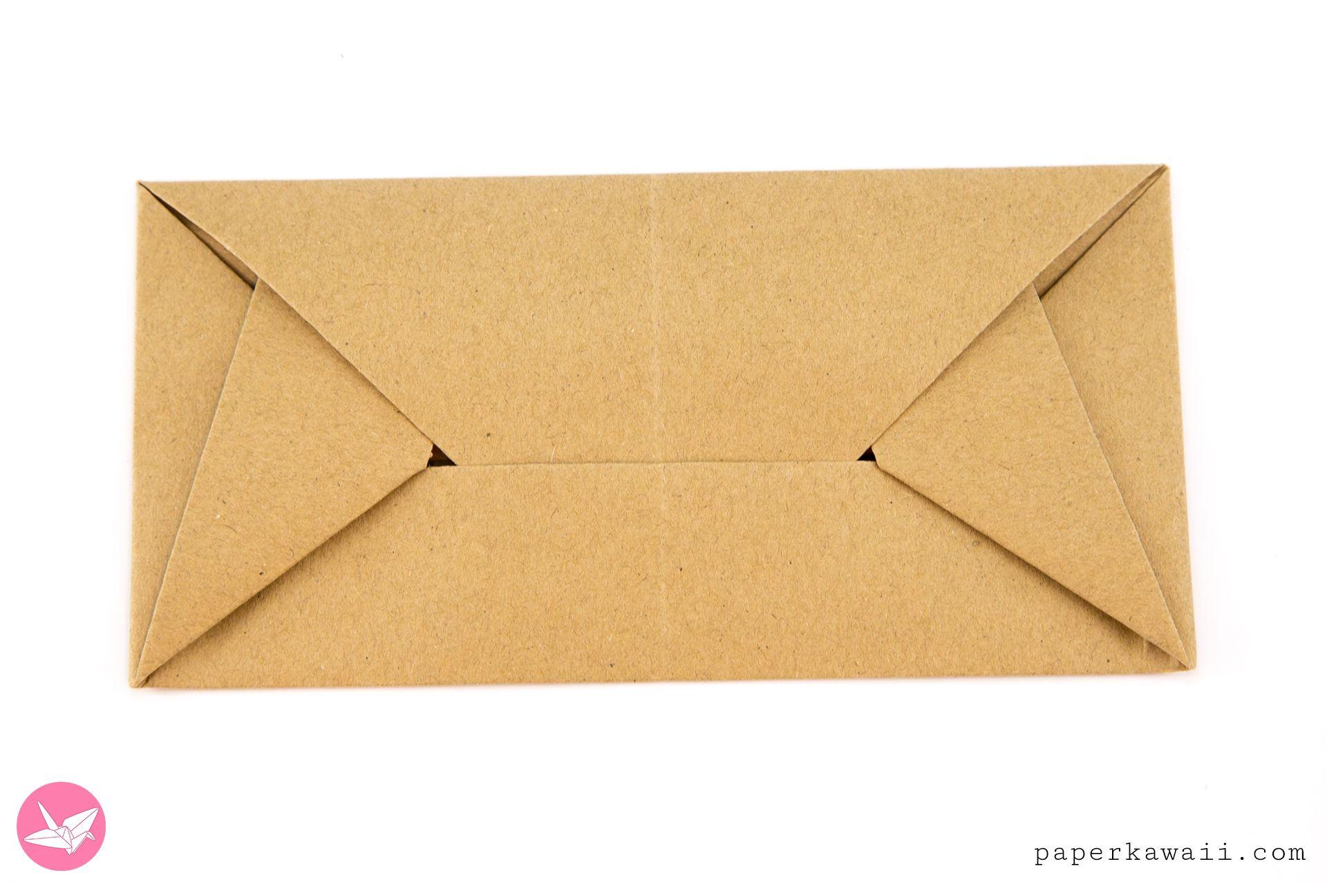 Envelope Origami Easy Easy Origami Envelope Letterfold Simon Andersen Crafts