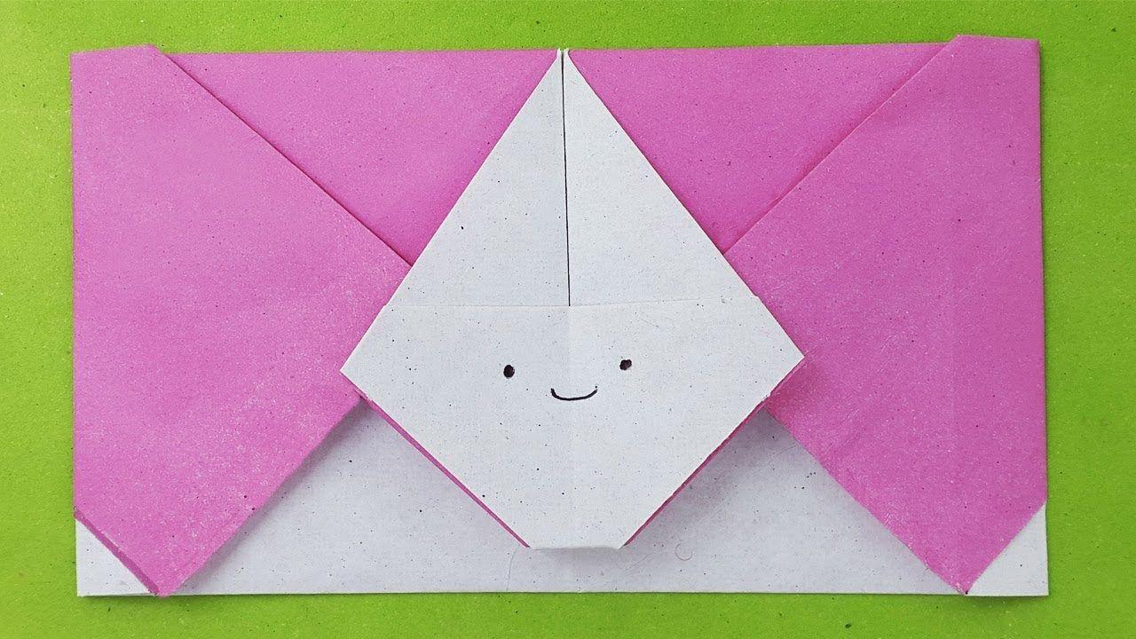 Envelope Origami Easy Easy Origami Envelope Tutorial Diy Paper Envelope Envelope Ideas