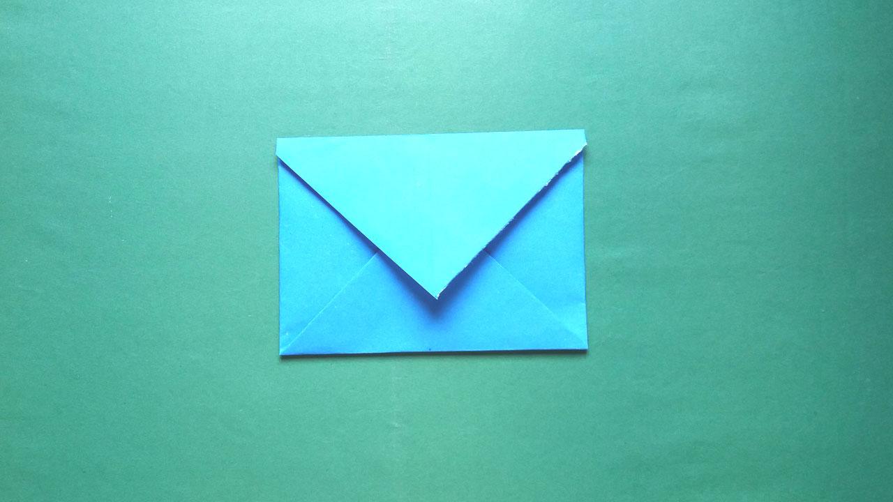 Envelope Origami Easy Easy Paper Origami How To Make A Paper Envelope Easy Paper