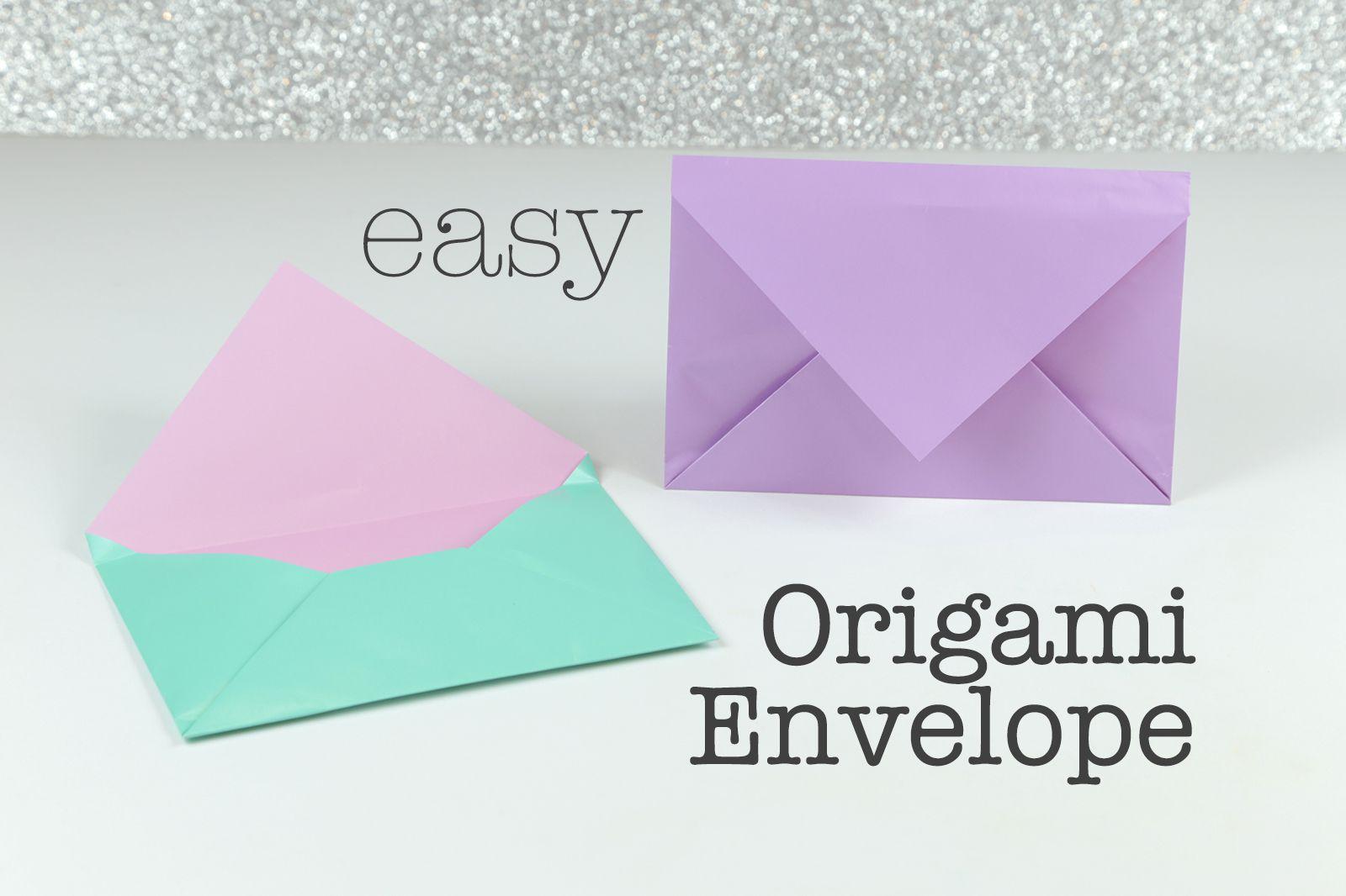 Envelope Origami Easy How To Make An Easy Origami Envelope