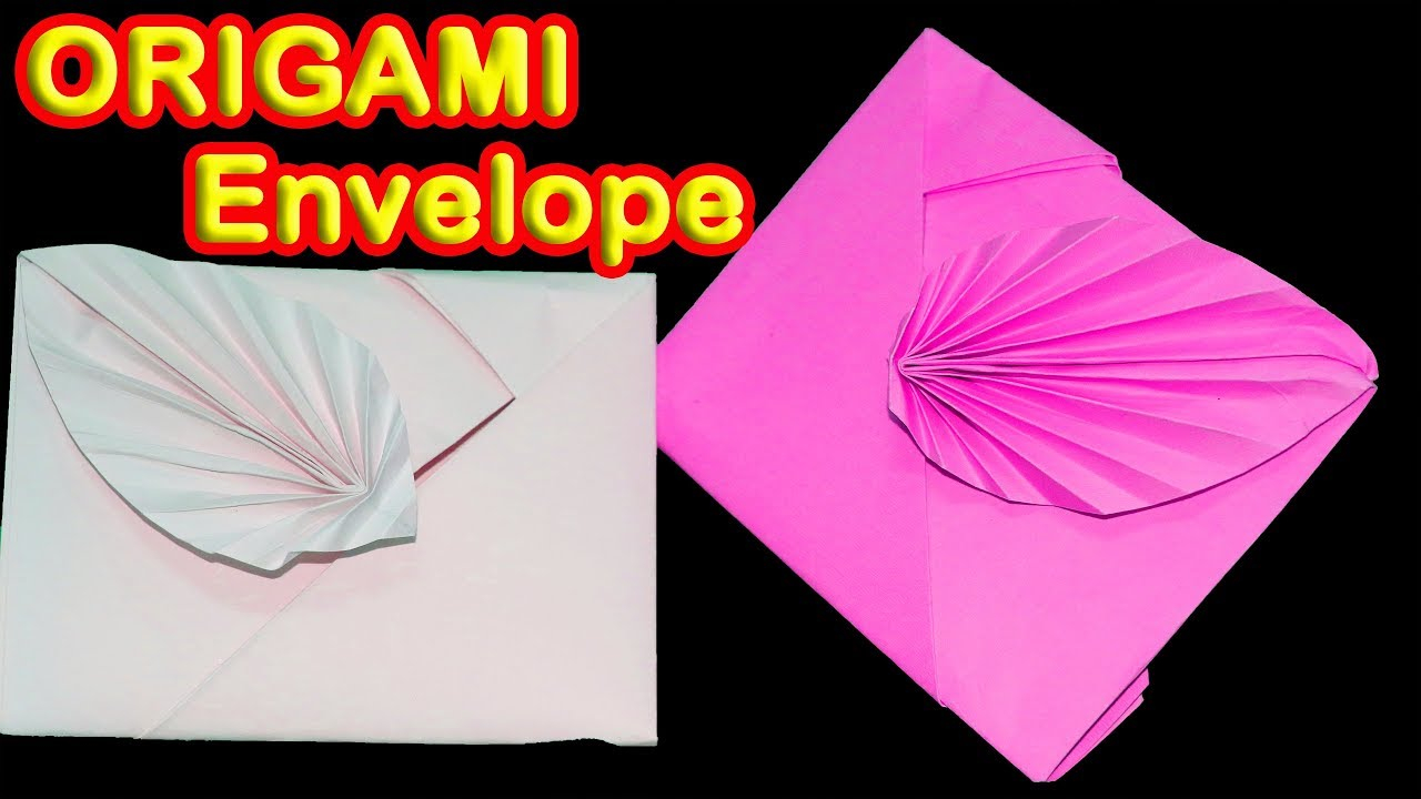 Envelope Origami Easy How To Make Paper Envelopes Super Easy Origami Envelope Tutorial