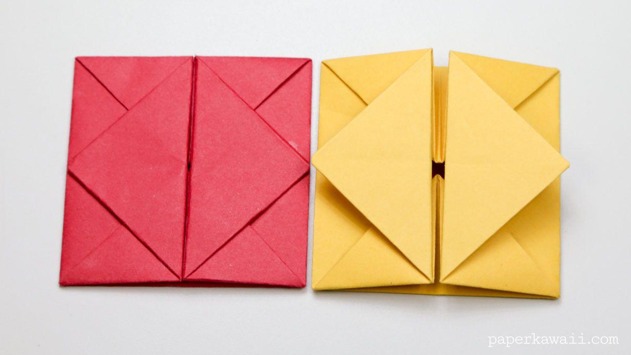 Envelope Origami Easy Origami Envelope Box Instructions Vabila Pinterest Origami