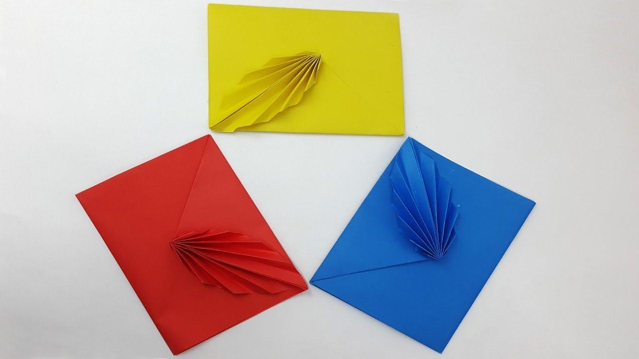 Envelope Origami Easy Super Easy Origami Envelope Origami 3d Gifts