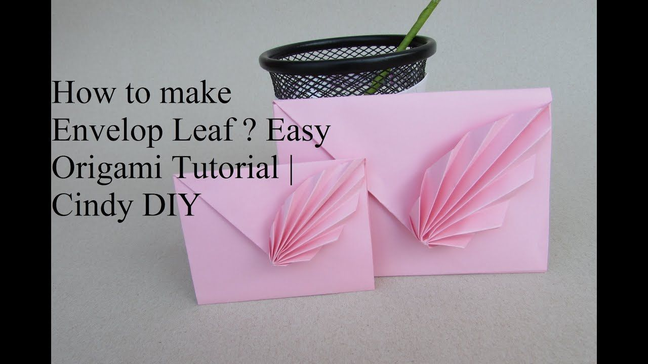 Envelope Origami Easy The Video In Term Of Super Easy Origami Envelope Diy Envelope