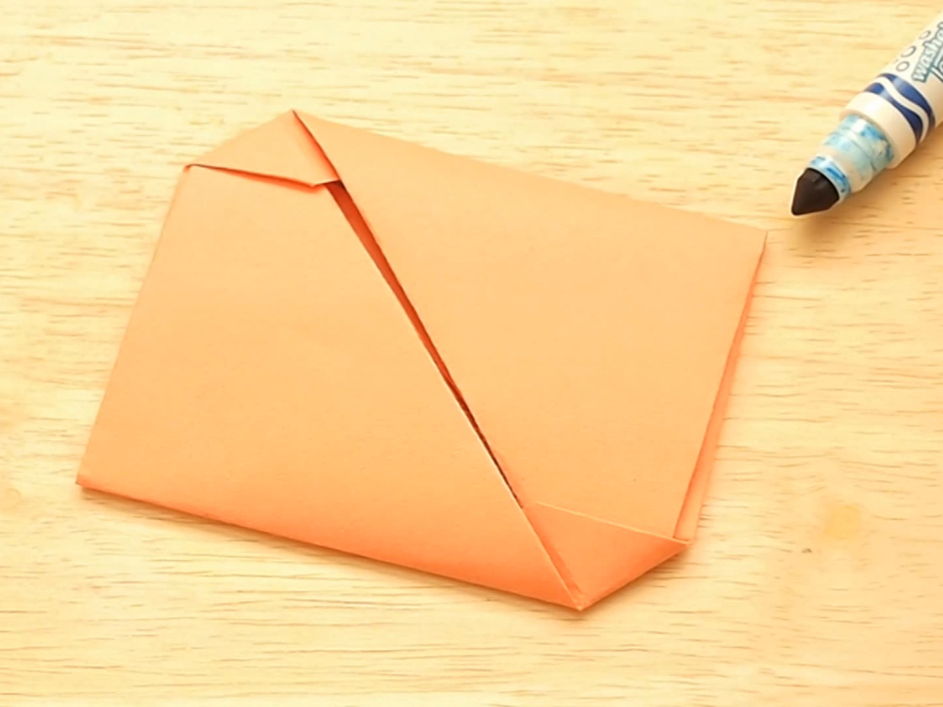 Envelope Origami Letters How To Fold An Origami Envelope With Pictures Wikihow