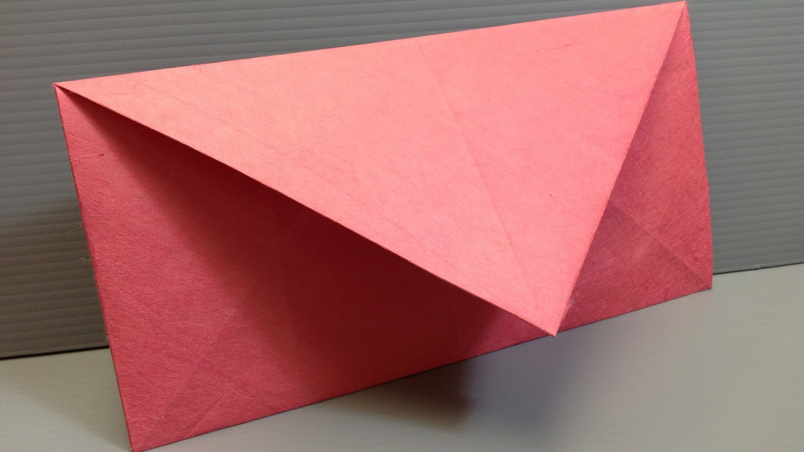Envelope Origami Letters Make Your Own Origami Envelopes Any Size Youtube