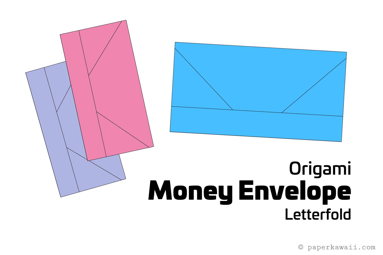 Envelope Origami Letters Origami Money Envelope Letter Fold Tutorial