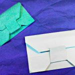 Envelope Origami Letters Origami Paper Envelope Tutorial Easy Letter Card Diy No Glue Youtube