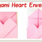 Envelope Origami Letters Valentines Day Crafts How To Fold An Origami Heart Envelope Paper