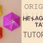 Envelope Origami Tutorials Origami Hexagonal Tato Envelope Tutorial Origami Pinterest
