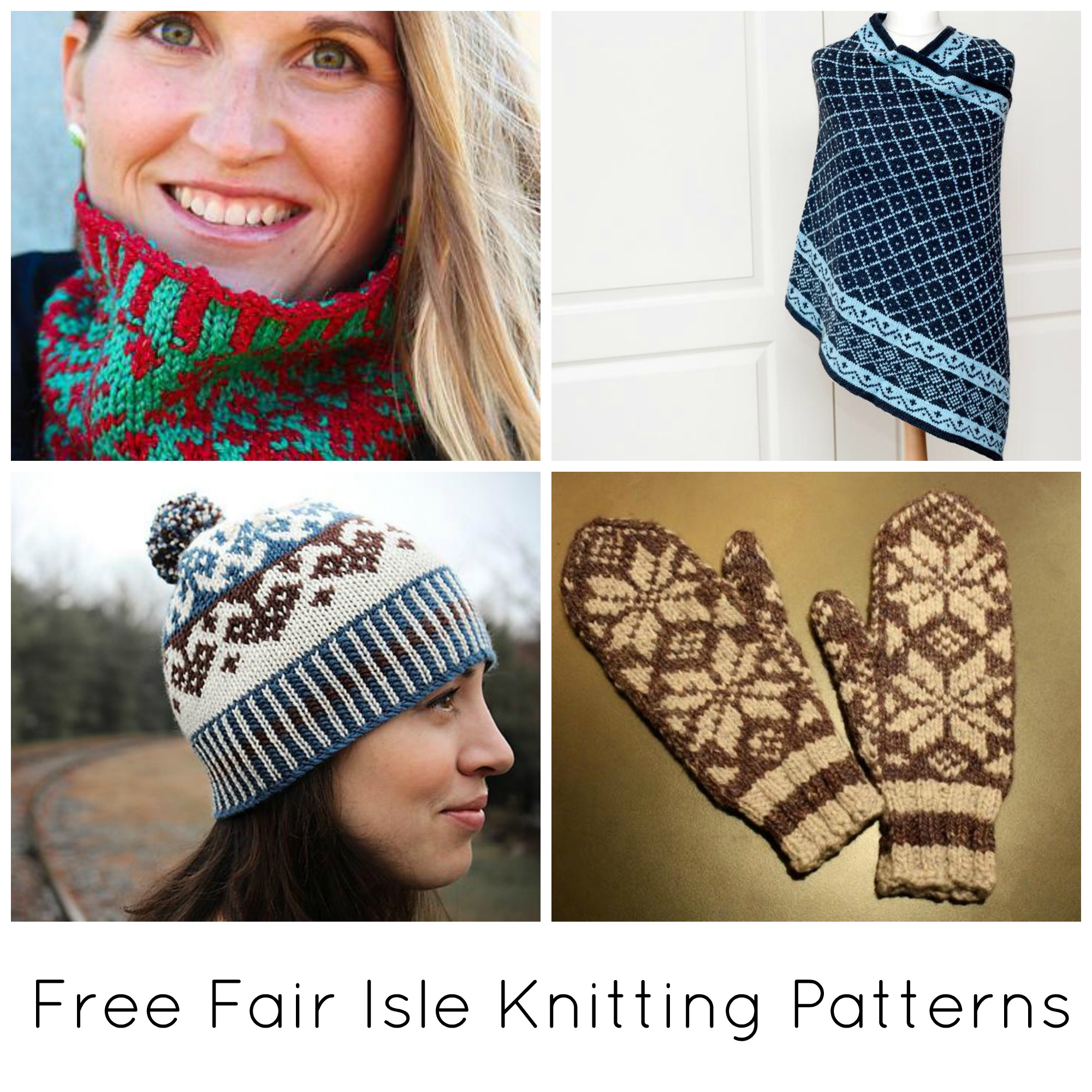 Fairisle Knitting Patterns Free 10 Free Fair Isle Knitting Patterns On Craftsy