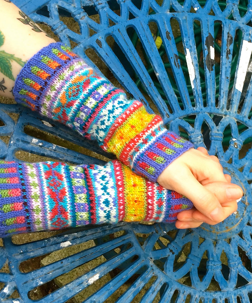 Fairisle Knitting Patterns Free Colorful Mittens And Gloves Knitting Patterns In The Loop Knitting