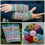 Fairisle Knitting Patterns Free Fair Isle Cuffs Pattern Julie Williams Knitting