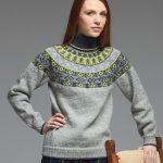 Fairisle Knitting Patterns Free Fair Isle Yoke Sweater Pattern Cocktail Dresses 2016
